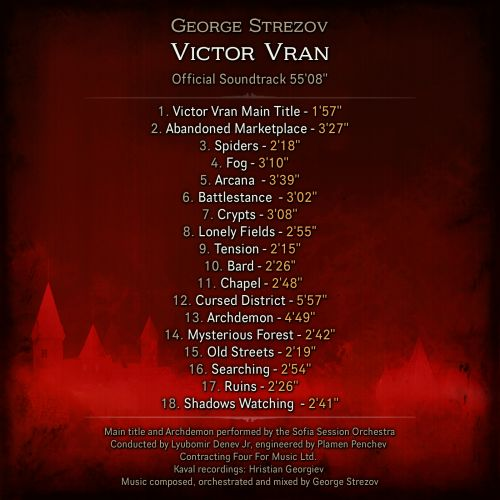 VV OST Back Cover